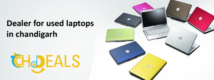 Dealer for used laptops in chandigarh